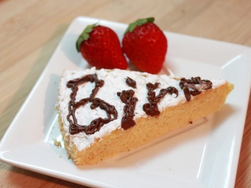 蛋糕。最傳統的那種!