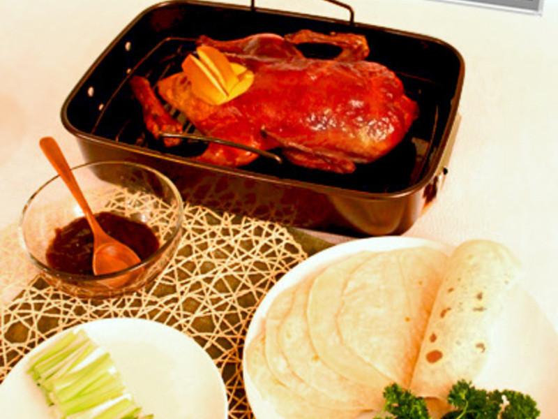 {食譜} 北京烤鴨三吃之一  --京醬片皮鴨
