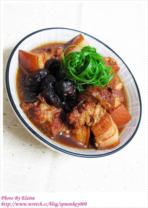 香菇麵輪燒肉
