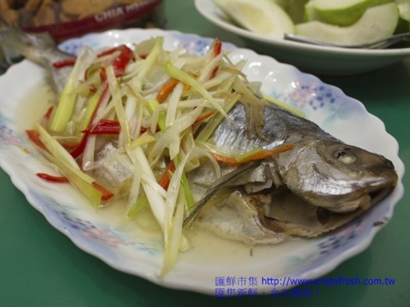 【5分鐘的海鮮料理】清蒸花鯧魚