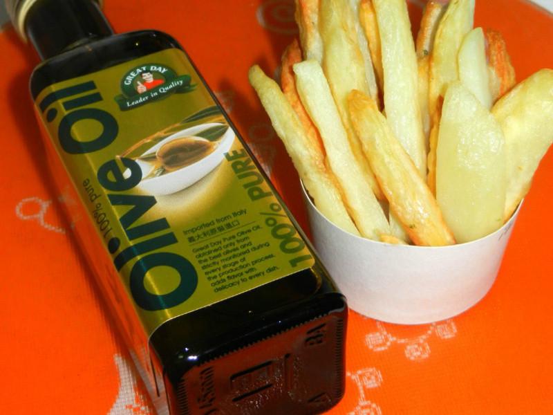 天天都是得意的一天-馬鈴【薯條】拌橄欖油