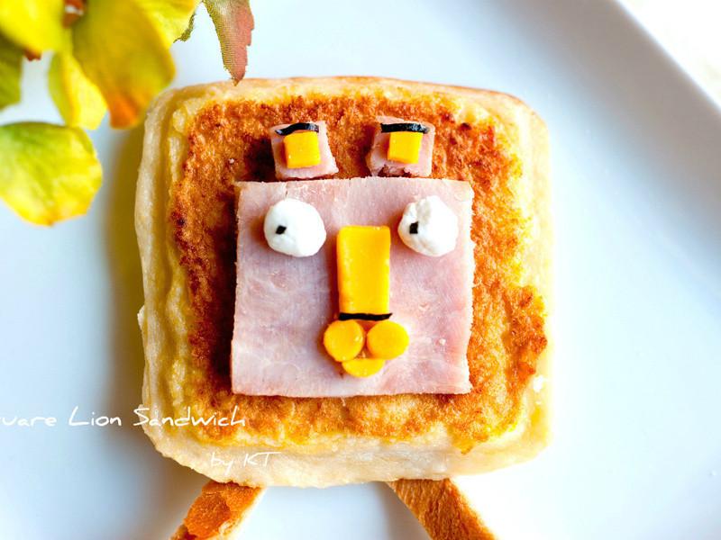 [矽谷美味人妻] 方頭獅三明治