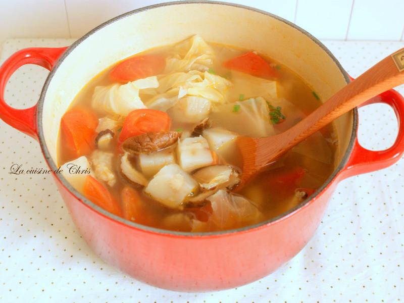[得意的ㄧ天橄欖油] 番茄肉絲粿仔湯