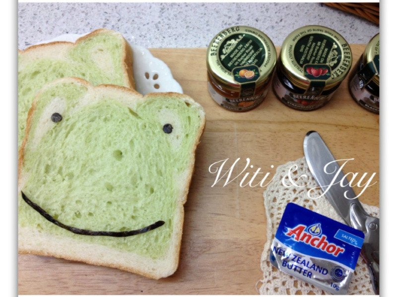 [Witi✿Kitchen](麵包機-吐司)Smile Frog吐司