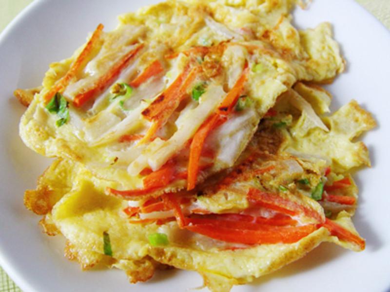 【厚生廚房】山藥胡蘿蔔煎蛋