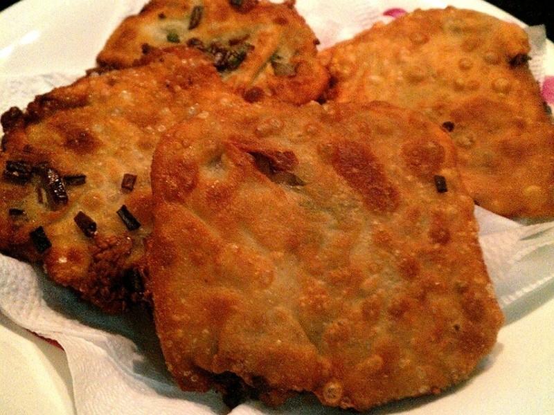 酥香葱油饼