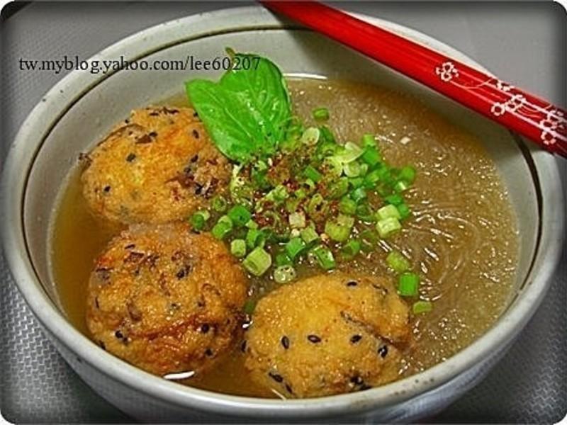 豆腐丸子粉絲煲