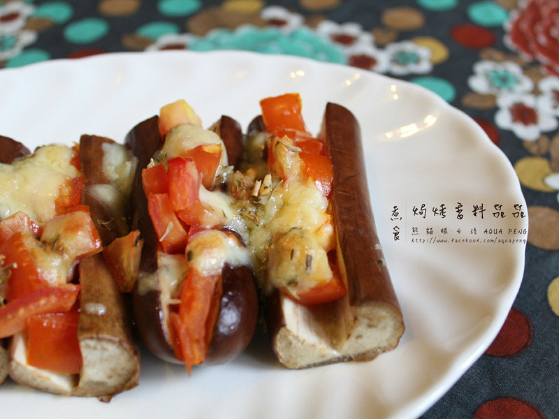 【熊貓眼女孩】焗烤香料茄茄