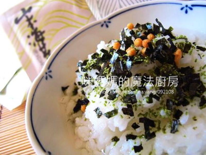 海苔香鬆茶泡飯