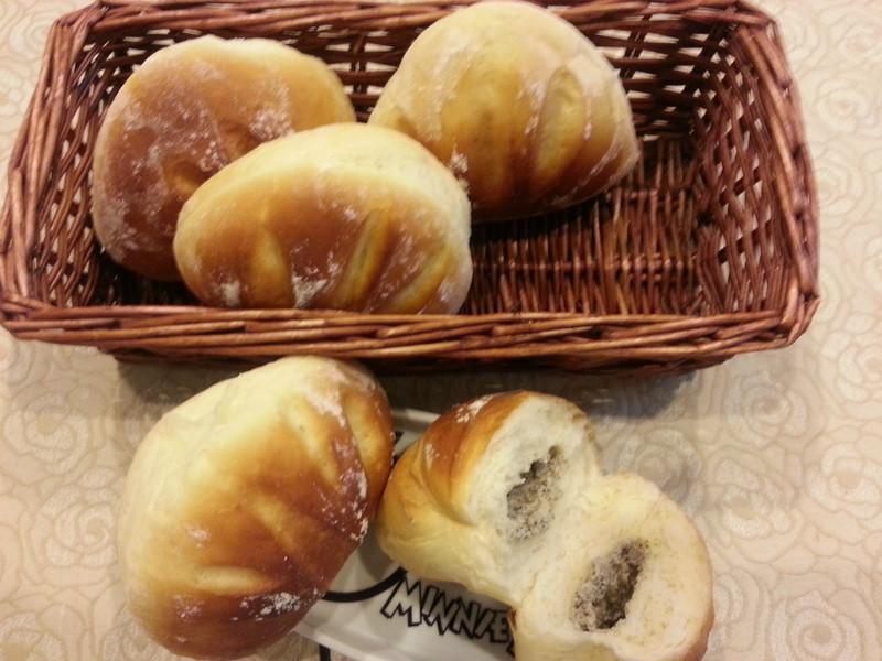 芝麻乳酪麵包