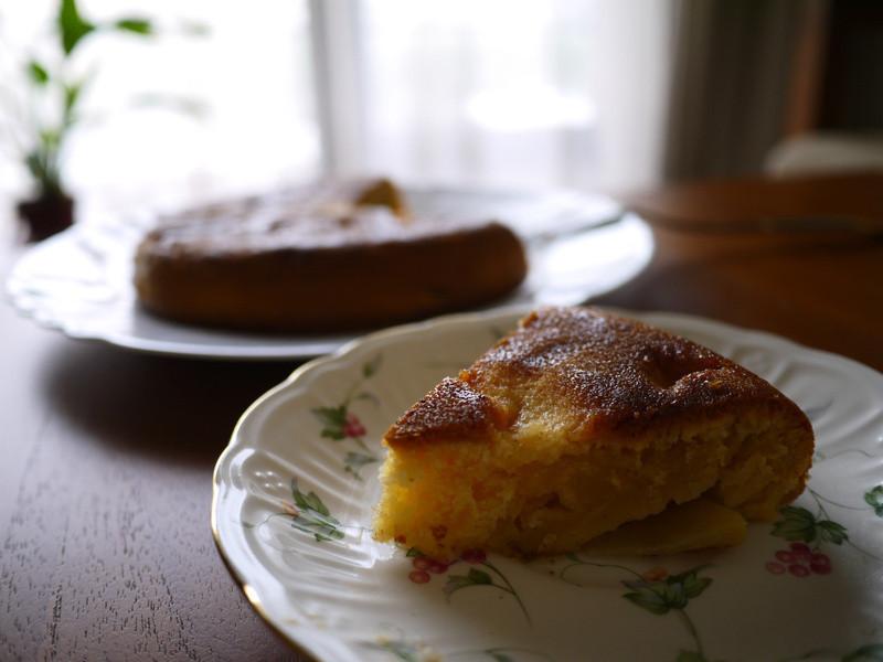 甜蜜蜜蘋果肉桂蛋糕~不必用烤箱~