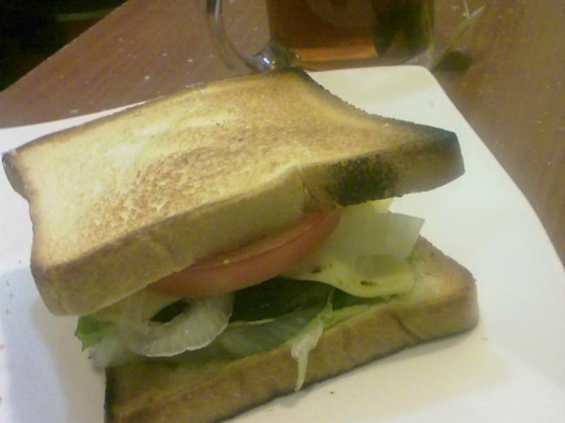 用不完的烤肉醬漢堡排三明治 (Picnic ft. Brunch)