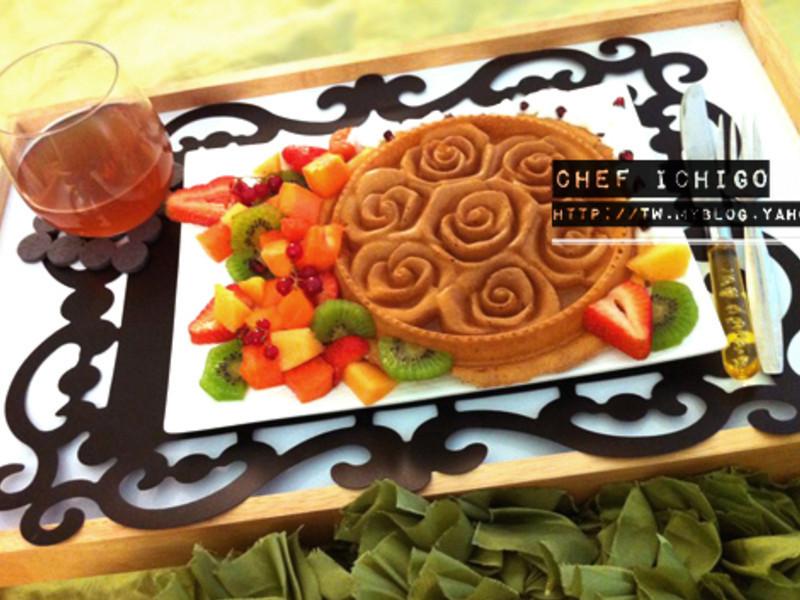 {食譜} 蜂蜜奶油鬆餅- 星期天的慢活早午餐