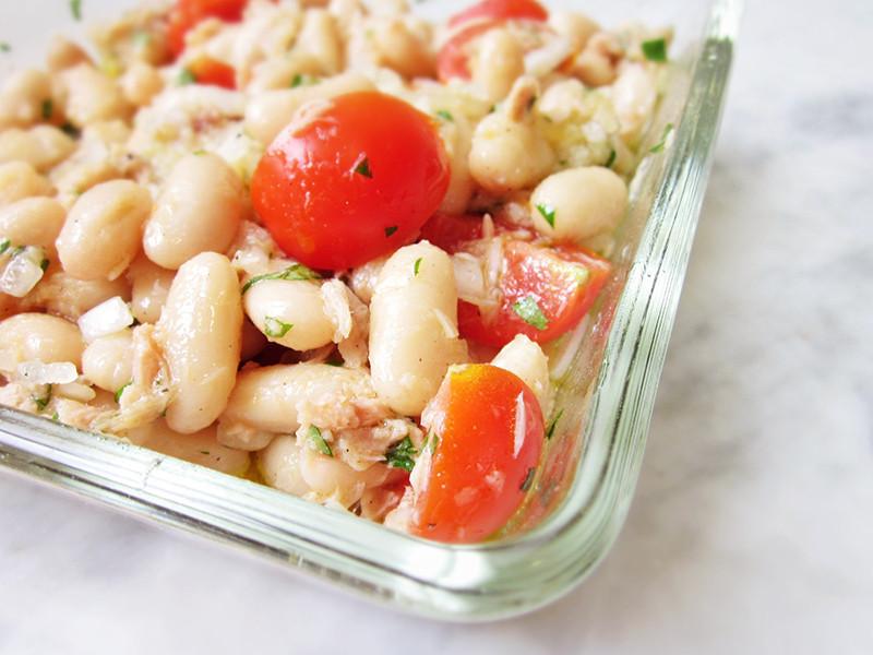 義式鮪魚白腰豆沙拉