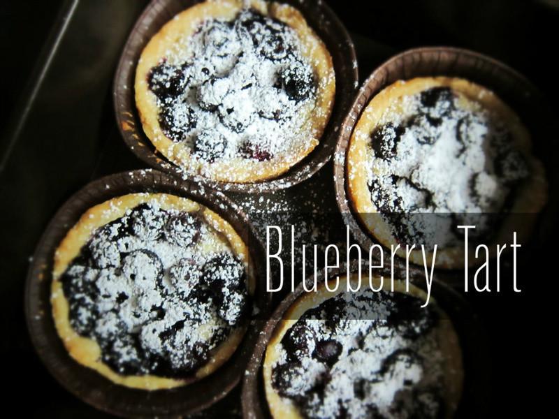 藍莓塔 Blueberry Tart