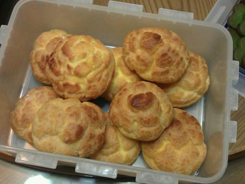 【動手做料理】鮮奶油泡芙