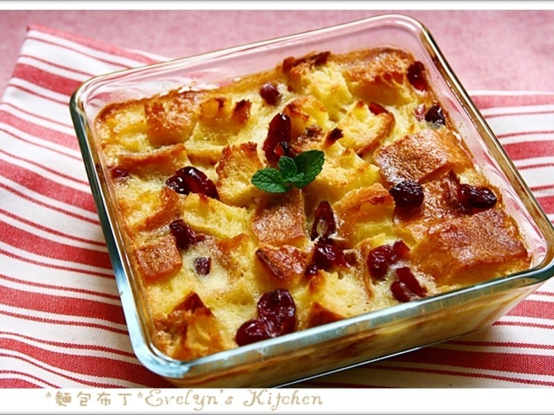 麵包布丁-很難失敗的家常甜點