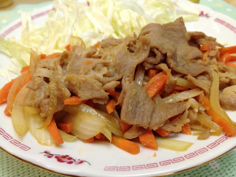 日本家庭味「薑燒豬肉」