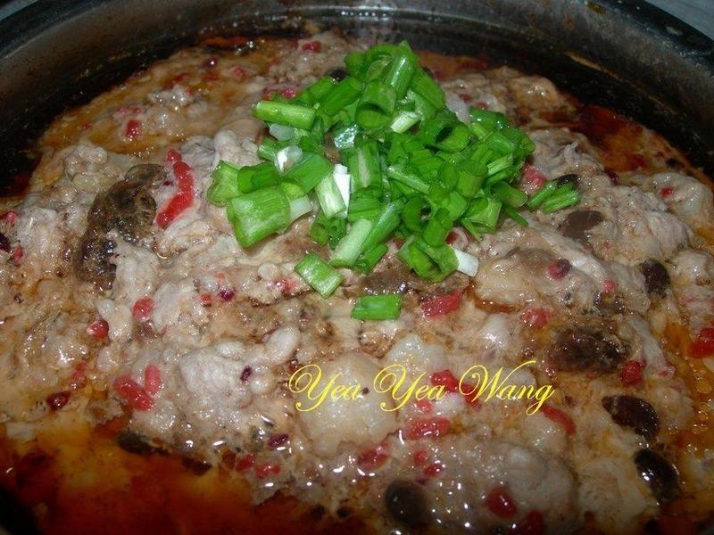 (電鍋料理)紅麴蔭瓜蒸肉