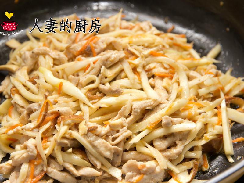 憶霖《8佳醬》黑胡椒牛排醬-茭白筍炒清雞