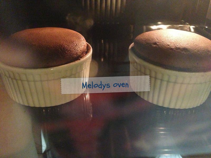 巧克力熔岩蛋糕*簡易版
