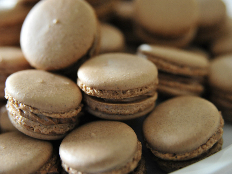 巧克力馬卡龍 | Chocolate Macarons