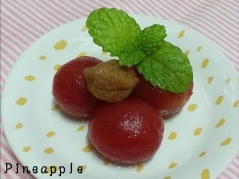 梅蜜冰釀小蕃茄