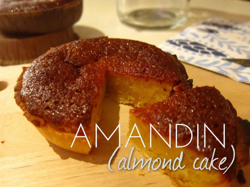 杏仁蛋糕 Amandin