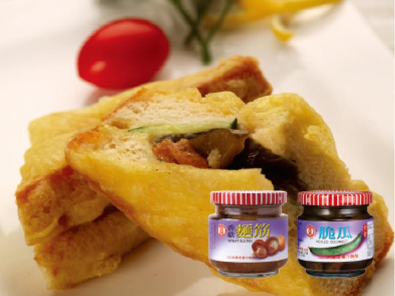 【金蘭】輕食料理類-雙味炸方包