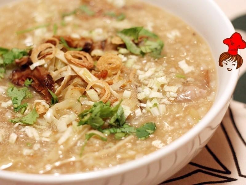 暖暖在心頭- 台式香菇鹹粥 Taiwanese Rice porridge