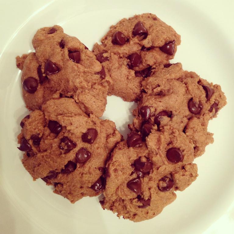 (全素) 巧克力脆片餅乾。新素食 by Miss V.