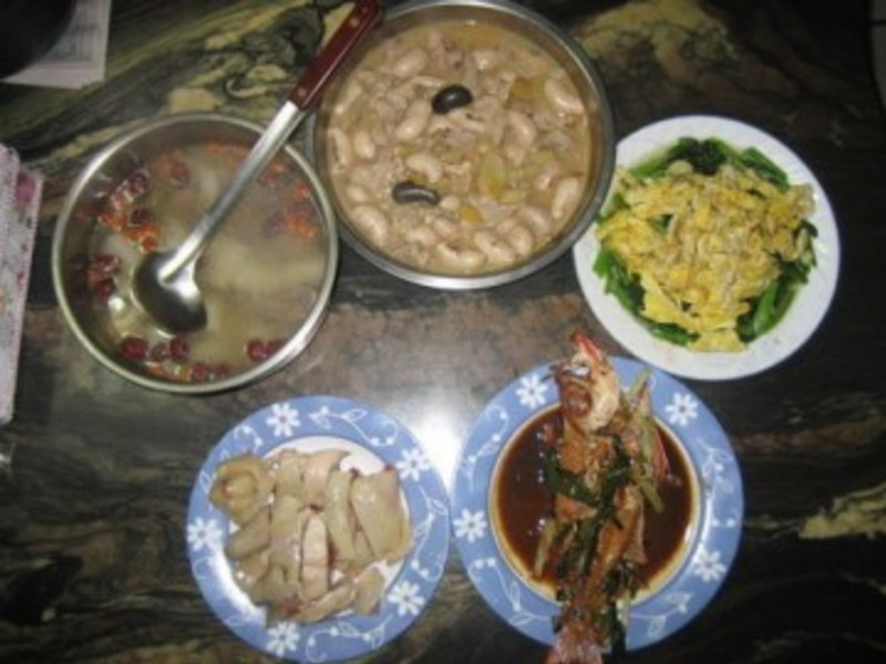 整桌菜【豆豆愛的料理-澎湖野生水產 】