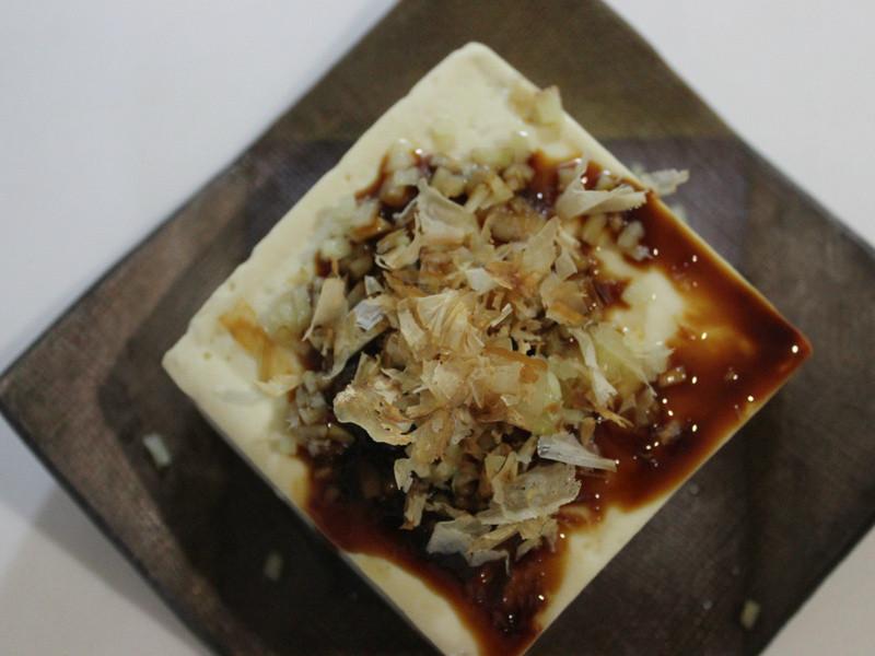 art's menu:清蒸薑末豆腐
