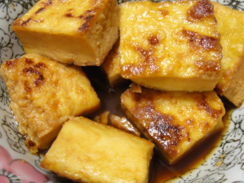 照燒臭豆腐