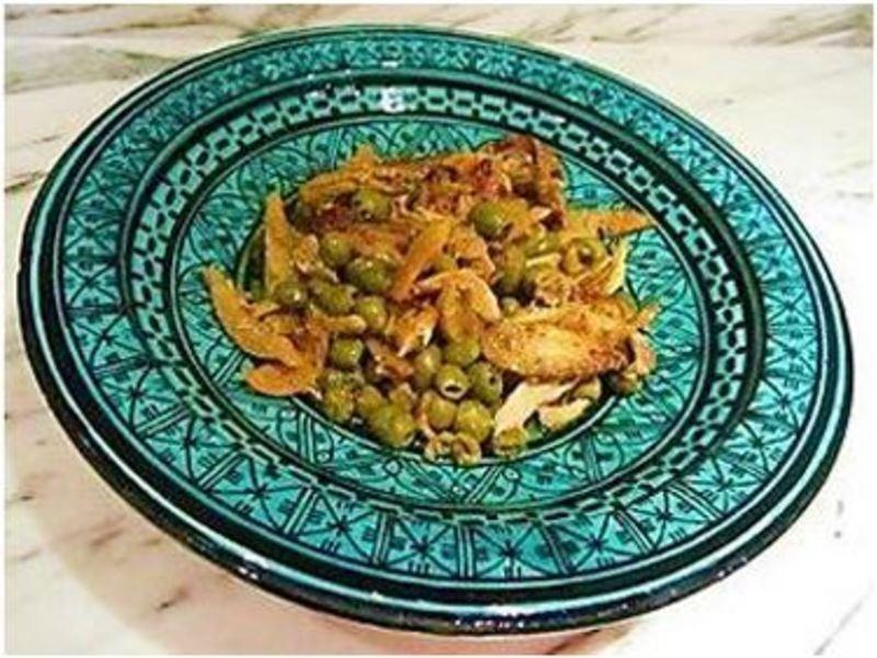 摩洛哥檸檬橄欖雞