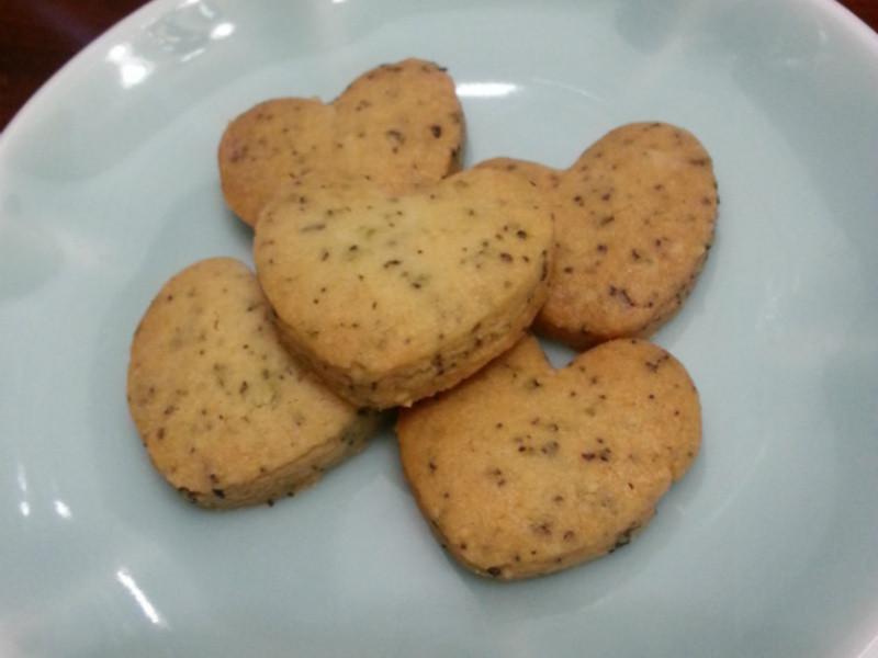 【我的第一堂甜點課食譜試作-紅茶餅乾】