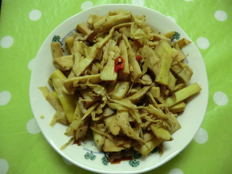 肉絲炒筍子