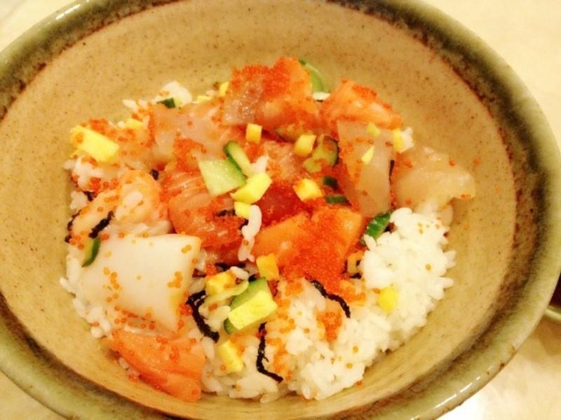 [woman家]-奢華美味的散壽司