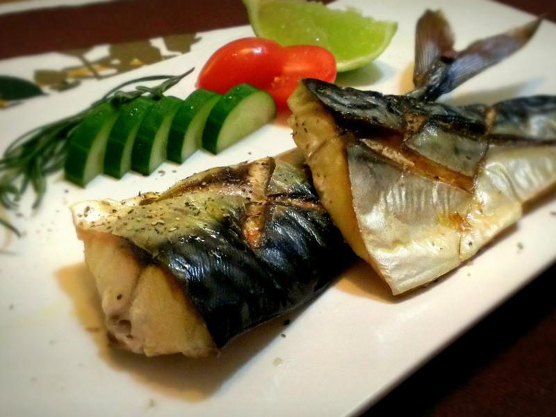 香草鹽烤鯖魚一夜干