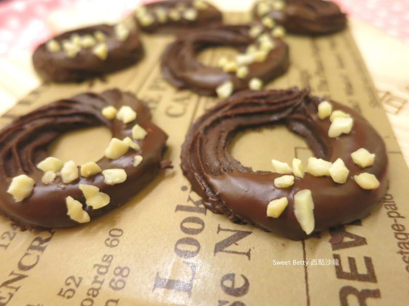 巧克力圈圈餅乾