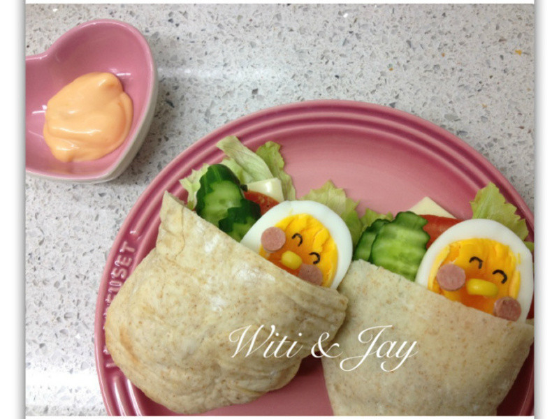[Witi✿Kitchen]鮮蔬全麥Pita堡