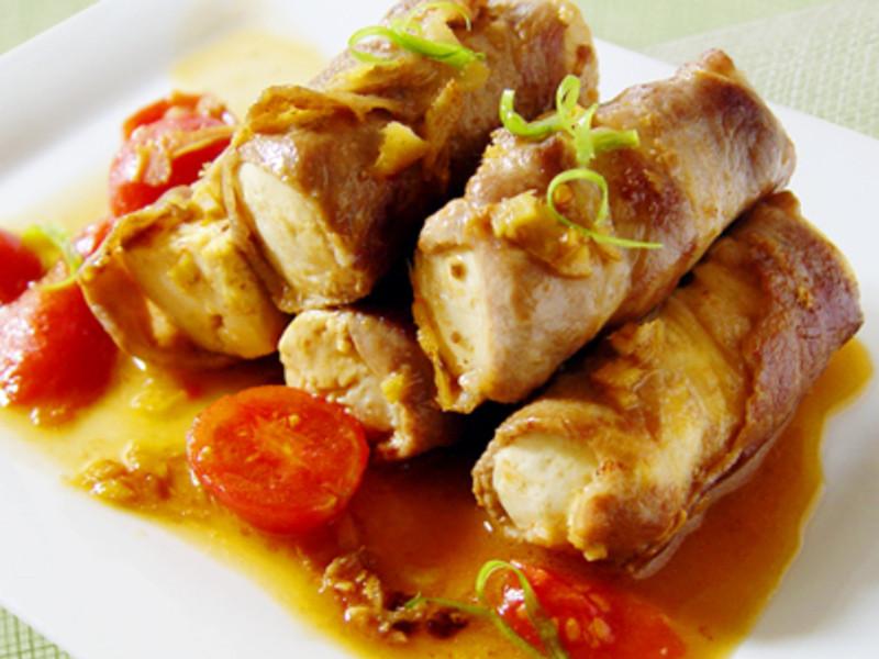 【厚生廚房】肉片豆腐捲