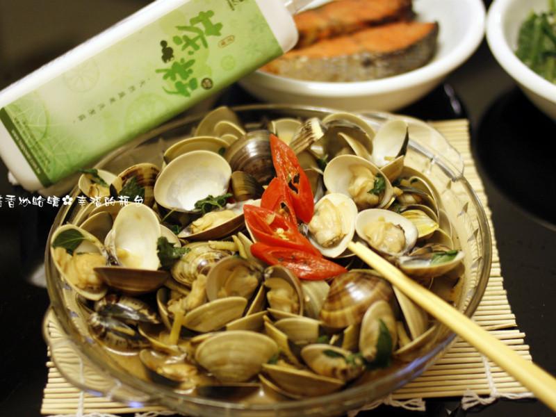 熱炒♫塔香炒蛤蠣❤艾希絲愛煮食