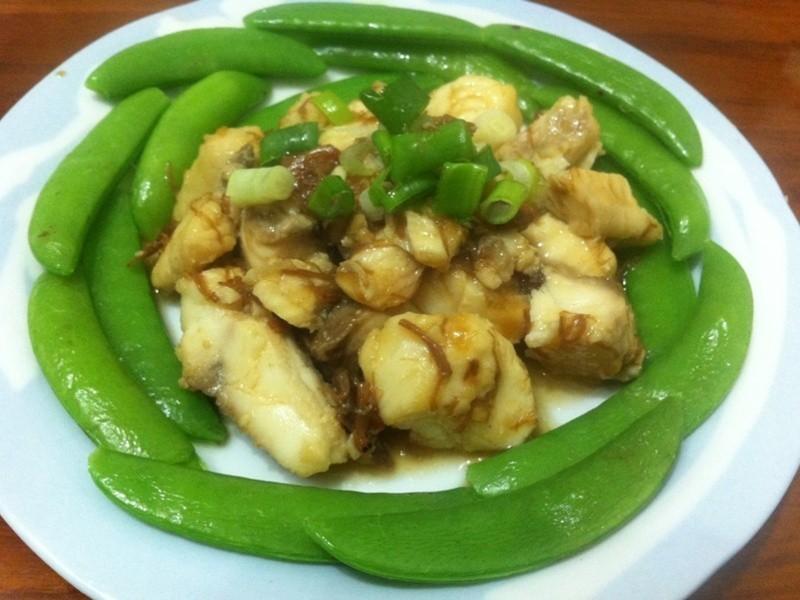 XO醬炒魚片