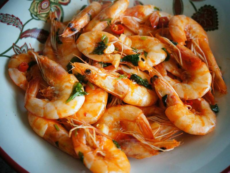 酸辣蝦Spicy&sour shrimp
