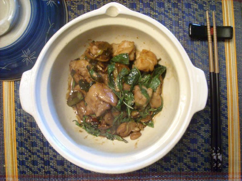 台灣好味道~~三杯雞