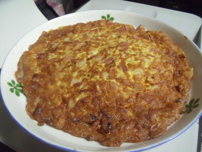 馬鈴薯火腿烘蛋