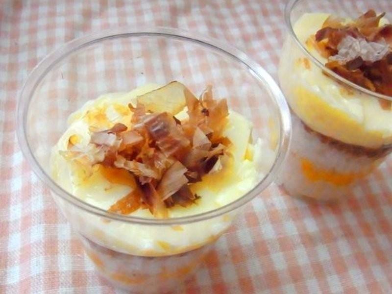 桂冠夏至涼拌--鹹點心,迷你豆腐丼