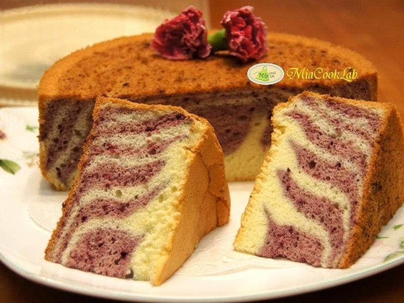 桑果斑紋戚風蛋糕