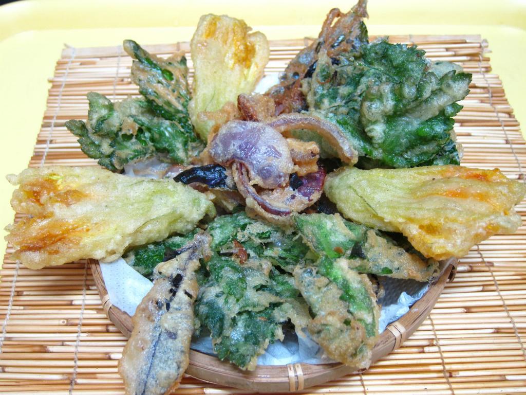天婦羅麵衣(炸野菜)